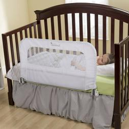 2 in 1 Convertible Crib Rail to Bedrail - Folds Down for Eas