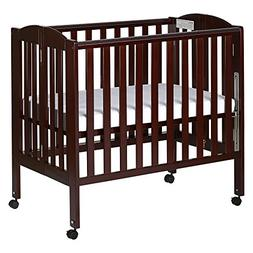 Dream On Me 3 in 1 Portable Folding Stationary Side Crib, Es