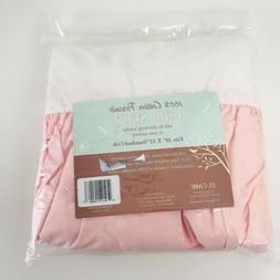 American Baby Company 100% Cotton Percale Ruffled Crib Skirt