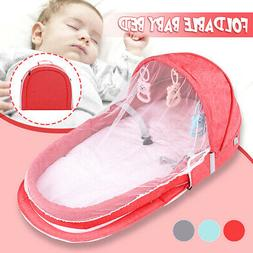 2IN1 Foldable Portable Baby Infant Travel Sleep Bag Bed Crib