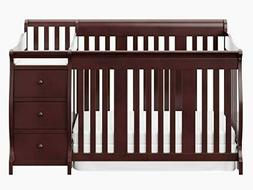 4 in 1 convertible Crib- Storkcraft, color Mocha, brand-new,