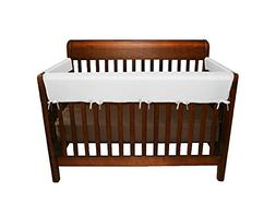 Jolly Jumper 3 Piece Soft Rail for Convertible Cribs, Gray