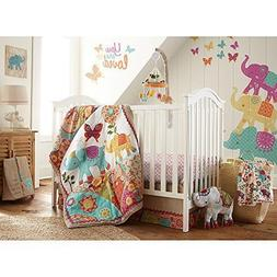Levtex Home Baby Zahara 5 Piece 100 Percent Cotton Crib Fitt