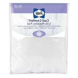 Sealy Cool Comfort Fitted Infant/Toddler Crib Mattress Pad -