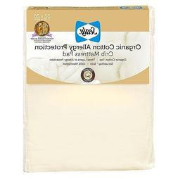 Sealy Allergy Protection Crib Mattress Pad Cover with Organi