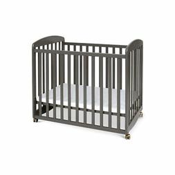 DaVinci Alpha Mini Rocking Crib, Slate