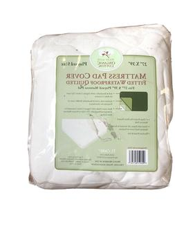 American Baby ORGANIC Cotton Waterproof Quilted Crib Mattres