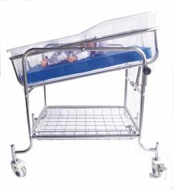 baby Bassinet Hospital Cribs Tilting With Mattress