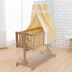 Baby Bed Child Cradle Nursery Side Bed Toddler Daybed Furnit