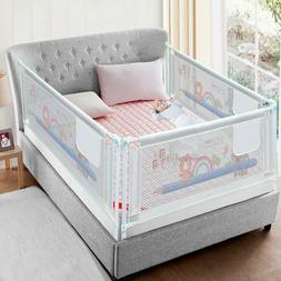 baby bed fence kid playpen safety gate