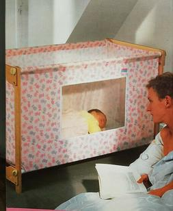 "Baby Bjorn ""First Bed"" cot - portable and travel friendly"