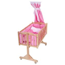 Baby Child Cradle Nursery Side Bed Toddler Daybed Furniture