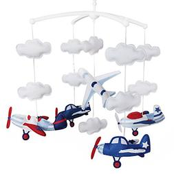 Baby Cloud Mobile, Musical Baby Mobile, Baby Crib Mobile, Ai