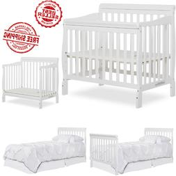 Baby Crib Dream On Me 4 in 1 Convertible Nursery Furniture C