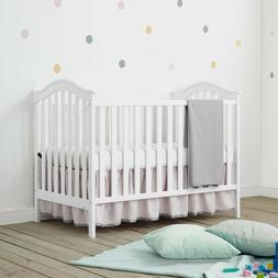 Baby Crib - Baby Relax Adelyn 2-in-1 Convertible Crib, White