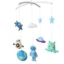 Unisex Baby Crib Bell, Cute Musical Mobile, Colorful