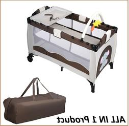 baby foldable bed infant crib portable bassinet