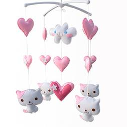 Baby Gift Mobile, Pretty Decor  Infant Musical Mobile