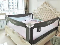 Baby Guard Rail Baby Bed Safety Swing Down crib Toddler Summ