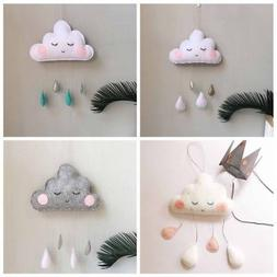 Baby Nursery CLOUD MOON STARS Hanging For Room Decorations C