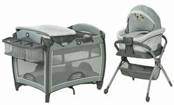 Graco Baby Pack n Play Day2Dream Crib Bassinet Playard & Bed