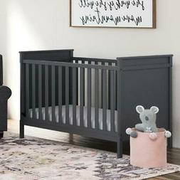 Baby Room Nursery Furniture 3-in-1 Convertible Crib Toddler