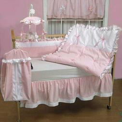 Baby Bedding Sets Doll Regal Pique Crib Set, Pink