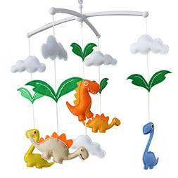 Baby Toys,  Rotatable Crib Mobile, Creative Decor, Colorful