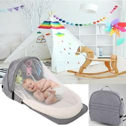Baby Travel Portable Bed Crib Newborn Multi-function Foldabl