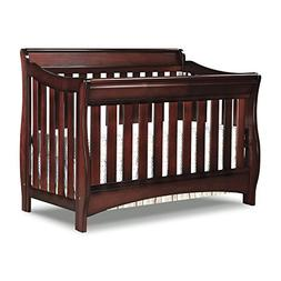 Delta Children Bentley 'S' Series 4-in-1 Crib Conver - Black