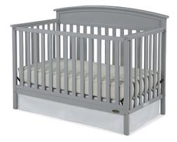 Graco Benton 5-in-1 Convertible Crib - Pebble Gray