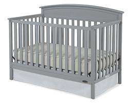 Graco Benton 5-in-1 Convertible Crib Pebble Gray