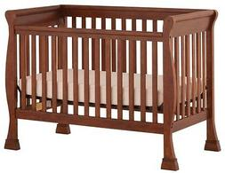 Storkcraft Birkdale Stages 600 Convertible Crib In Mahogany