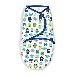 SwaddleMe Blue Monsters - Small