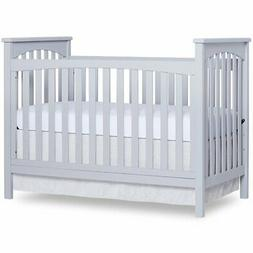Dream On Me Cape Town 5-in-1 Convertible Crib in Pebble Grey