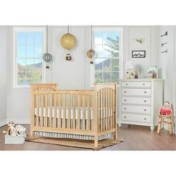 Dream On Me Cape Town 5-in-1 Convertible Crib in Natural