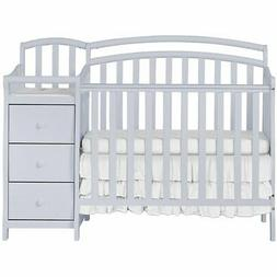 Dream On Me Casco 4-in-1 Convertible Mini Crib and Changing