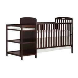 4-in-1 Baby Crib and Changing Table Combo Furniture Full Siz