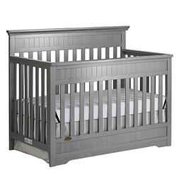 Dream On Me Chesapeake 5-in-1 Convertible Crib - Storm Grey