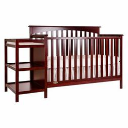 Dream on Me Chloe 5-in-1 Convertible Crib with Changer