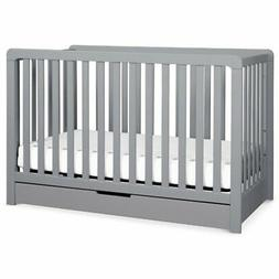 Carter's Colby 4-in-1 Convertible Crib with Trundle Drawer -