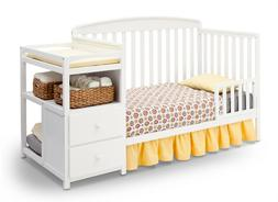 convertible baby crib and changing table 4
