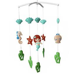 Creative Baby Crib Rotatable Musical Mobile