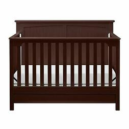 Storkcraft Davenport 5-in-1 Convertible Crib with Drawer - L