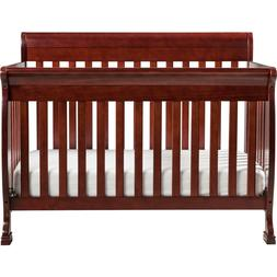 DaVinci Kalani 4-in-1 Convertible Baby Crib in Cherry
