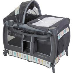 deluxe ii nursery center playard cuddle cot