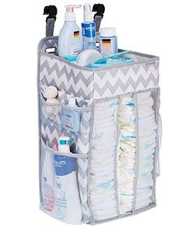 DIAPER CADDY ORGANIZER, nursery organizer: Best hanging Diap