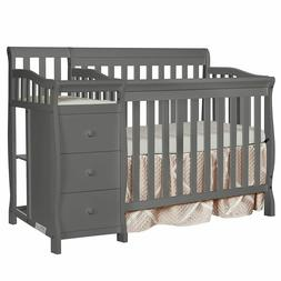 Dream On Me Jayden 4-in-1 Mini Convertible Crib And Changer,