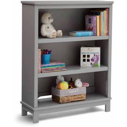 Delta Children Epic Bookcase/Hutch For Books and Toys - Grey