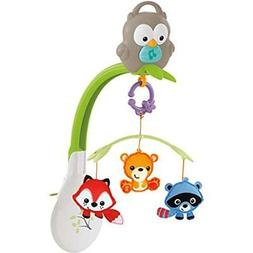 Fisher Price Woodland Friends Musical 3 In 1 Mobile Crib Lul